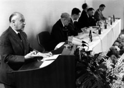International press conference in East Berlin