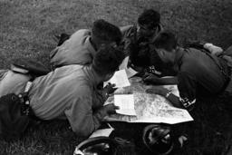 HJ-Motorradgeländefahrt 1936/Fahrtroute - Hitler Youth / Motorcycling / 1936 -