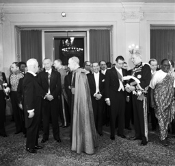 New Year reception with the Federal President Heinrich Lübke in 1963