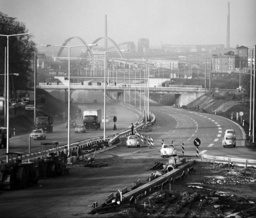 Autobahn bypass Offenbach under construction