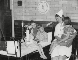 Scene At The Great Ormond Street Hospital In London.