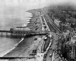 Aerial View Of Eastbourne Sussex