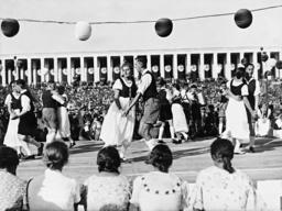 Folk festival during the Nuremberg rally, 1936