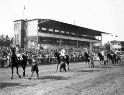 Flat racing track Hoppegarten 1937