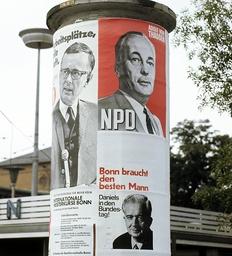 Bundestag eletions 1969 - Election campaign
