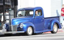 EXCLUSIVE Scott Caan in a vintage truck