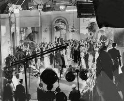 Film The Marriage Bond' (1932) Filming Of The Hunt Ball Scene At Twickenham Studios..
