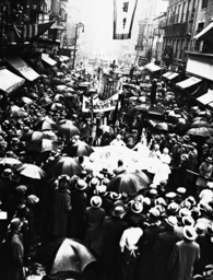 Parade in Chinatown, 1932
