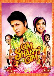 OM SHANTI OM, Shahrukh Khan (2nd from left), Deepika Padukone (2nd from right), 2007. © Eros Interna