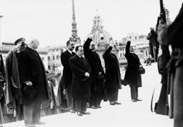 Engelbert Dollfuss in Rome, 1934