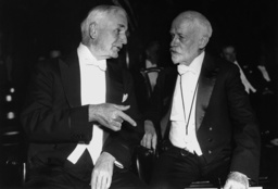 Cordell Hull with William Durand at the Third World Power Conference in Washington, 1936