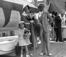 Shirley Temple, George Temple, Gertrud Temple