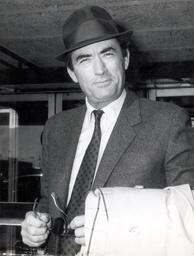 1966 Gregory Peck Film Star In London.