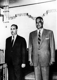 Iraqui President in Cairo