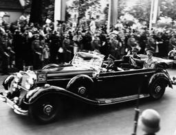 Adolf Hitler with Prince Paul of Yugoslavia, 1939