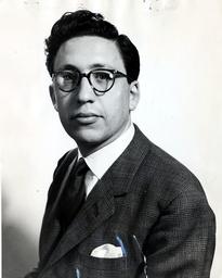 Writer And Broadcaster Bernard Levin.