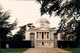 Chiswick House Is A Palladian Villa In Burlington Lane Chiswick London. Set In 65 Acres The House Was Completed In 1729 During The Reign Of George Ii And Designed By Lord Burlington.