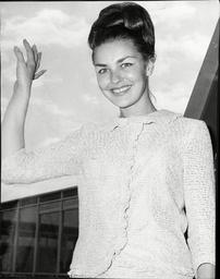 Janice Whiteman Miss England 1966