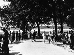 Olympiaprüfung d.Langstreckenläufer... - Long-distance runners / Berlin / 1936 -