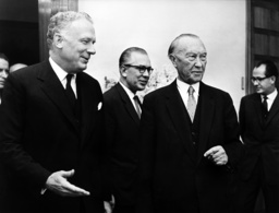 Adenauer receives Ball