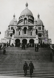2.WK./Paris unter dt. Besatzung / Foto. - Occupied Paris / Sacre Coeur / 1940 - 2e G.M./Paris sous l'Occupation/Photo