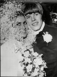 The Wedding Of Mireille Strasser To Herman's Hermit Lead Singer Peter Noone