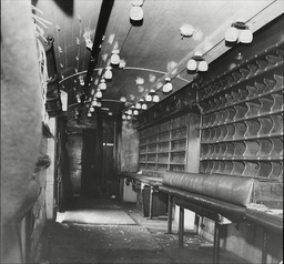 Law Crime Robbery 1963 'great Train Robbery' Showing Interior Of The Mail Van After The Robbery The Great Train Robbery Is The Name Given To A 2.6 Million Train Robbery (the Equivalent Of Around 40 Million Today) Committed On Thursday 8 August 1963