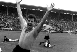 Soccer: First goal at beginning of Bundesliga 1963