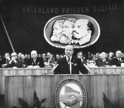 VI. Parteitag der SED 1963 - 6th party convention of the SED 1963 - 6e congrès du parti communiste SED 1963