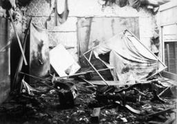 Zerstörungen Port Arthur 1904 / Foto - Russo-Japanese War,Port Arthur destroyed - Bombardement de Port Arthur 1904 / Photo