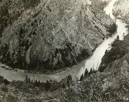Gunnison Tunnel (Colorado) / Foto 1904 - Gunnison Tunnel, Colorado / Photo 1904 -