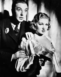 F-MAN, from left: Jack Haley, Grace Bradley, 1936