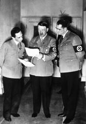 Hitler, Heß, Göbbels/Volksabstimmung1938 - Hitler, Hess, Göbbels / Referendum -