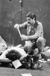 WOUNDED ISRAELI SOLDIER 1982