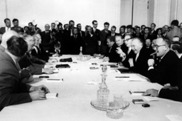 First Soviet-German conference in Moscow