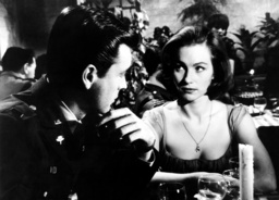 THE WAR LOVER, from left, Robert Wagner, Shirley Anne Field, 1962