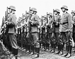 Soldiers of the guard battalion Berlin, 1939